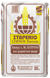 Starenio Limnos durum - flour t. M yellow (coarse)